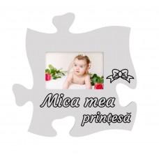 Rama foto tip puzzle, Mica mea  Prințesa, 15x10 vedere