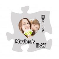 Rama foto de perete, Happy mother's day ,15x15, inima mare