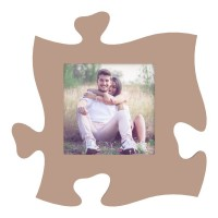 Rama foto tip puzzle, 15x15 patrata